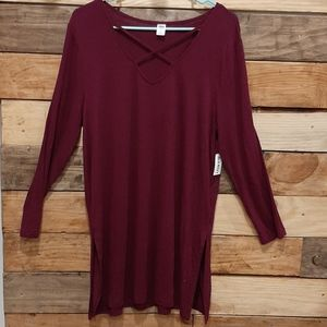 Womens Old Navy Tunic Top